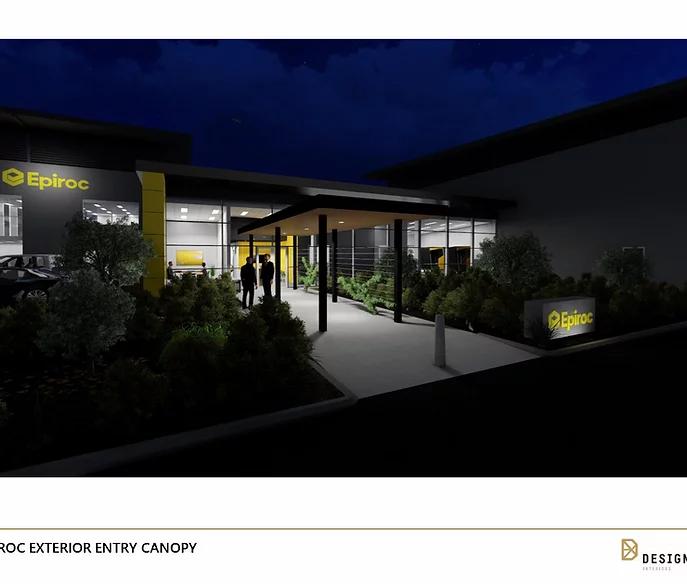 Epiroc Interior Design by Designfit Group